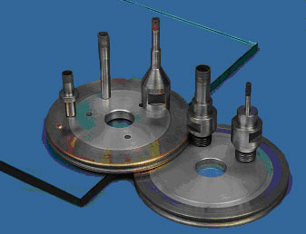 Diamond Tools for glass industry